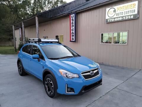 2017 Subaru Crosstrek for sale at Premier Auto Center in Cartersville GA