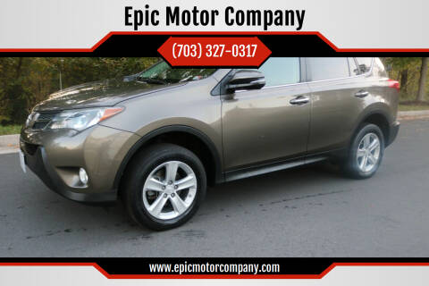 2013 Toyota RAV4 for sale at Epic Motor Company in Chantilly VA