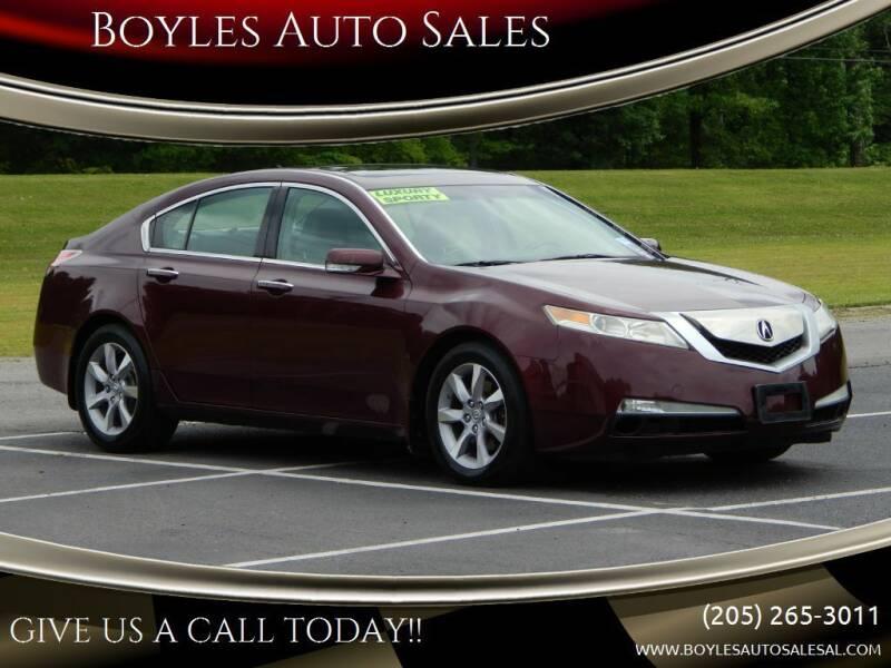 2011 Acura TL for sale at Boyles Auto Sales in Jasper AL
