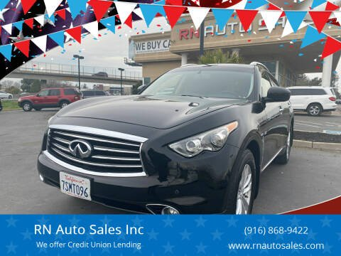2015 Infiniti QX70 for sale at RN Auto Sales Inc in Sacramento CA