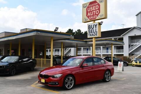2016 BMW 3 Series for sale at Houston Used Auto Sales in Houston TX