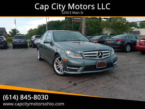 2012 Mercedes-Benz C-Class for sale at Cap City Motors LLC in Columbus OH