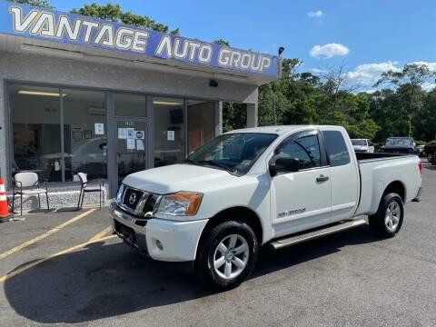 2014 Nissan Titan for sale at Vantage Auto Group in Brick NJ