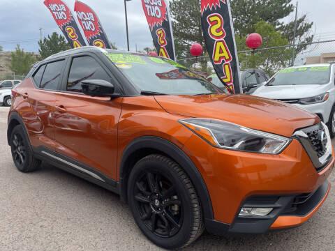 2019 Nissan Kicks for sale at Duke City Auto LLC in Gallup NM