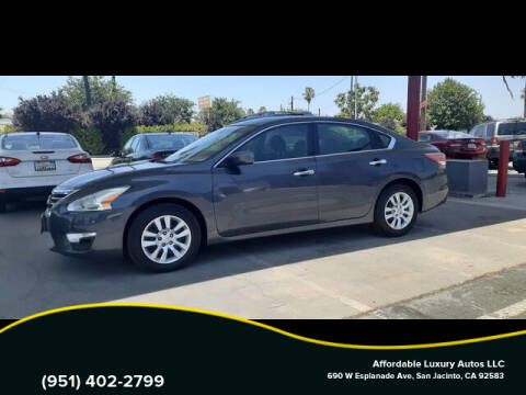 2013 Nissan Altima for sale at Affordable Luxury Autos LLC in San Jacinto CA