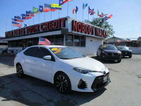 2019 Toyota Corolla for sale at Giant Auto Mart 2 in Houston TX