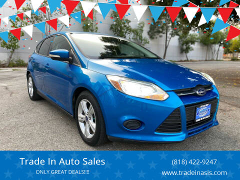 2014 Ford Focus for sale at Trade In Auto Sales in Van Nuys CA