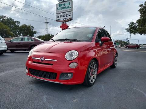 2013 FIAT 500 for sale at BAYSIDE AUTOMALL in Lakeland FL