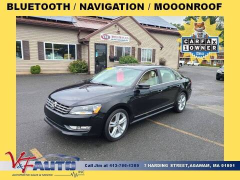 2014 Volkswagen Passat for sale at V & F Auto Sales in Agawam MA