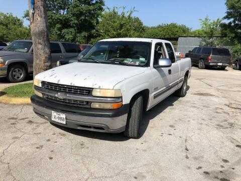 2000 Chevrolet Silverado 1500 for sale at Approved Auto Sales in San Antonio TX