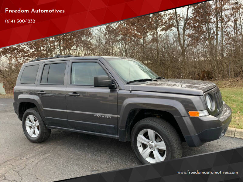 2015 Jeep Patriot for sale at Freedom Automotives in Grove City OH