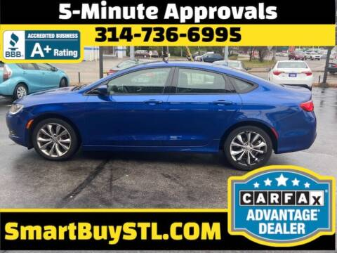 2015 Chrysler 200 for sale at Smart Buy Car Sales in St. Louis MO