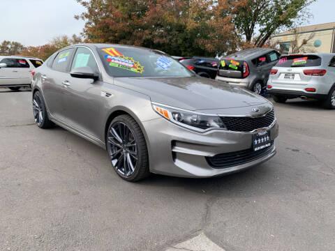 2017 Kia Optima for sale at 5 Star Auto Sales in Modesto CA