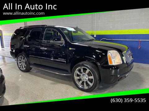 2013 GMC Yukon for sale at All In Auto Inc in Addison IL