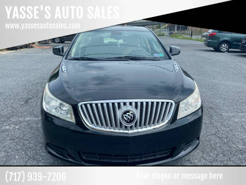 2010 Buick LaCrosse for sale at YASSE'S AUTO SALES in Steelton PA