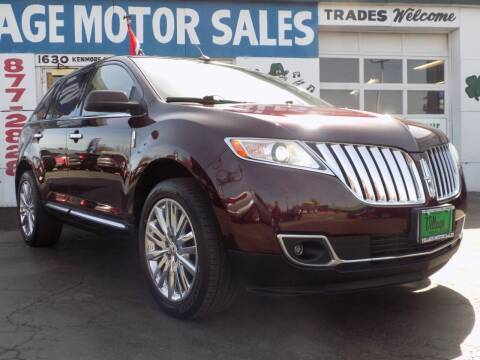 2011 Lincoln MKX for sale at Village Motor Sales in Buffalo NY