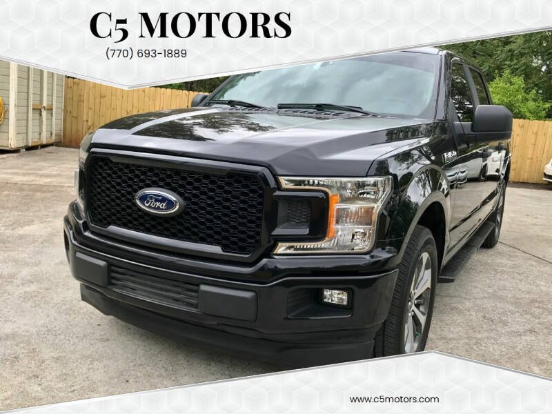 2019 Ford F-150 for sale at C5 Motors in Marietta GA