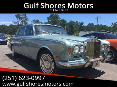 1972 Rolls-Royce Silver Shadow for sale at Gulf Shores Motors in Gulf Shores AL