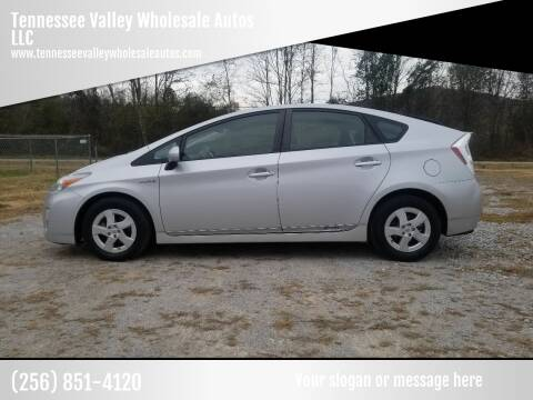 2011 Toyota Prius for sale at Tennessee Valley Wholesale Autos LLC in Huntsville AL