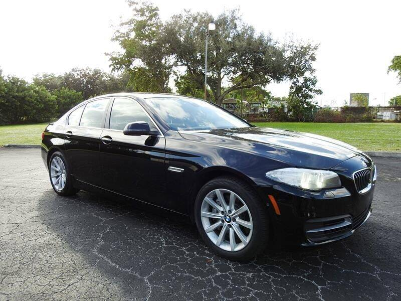 2014 BMW 5 Series for sale at SUPER DEAL MOTORS in Hollywood FL