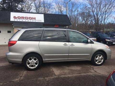 2005 Toyota Sienna for sale at Gordon Auto Sales LLC in Sioux City IA