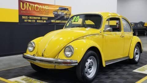 1980 Volkswagen Beetle for sale at UNIQUE SPECIALTY & CLASSICS in Mankato MN