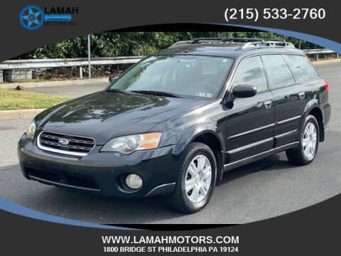 2005 Subaru Outback for sale at LAMAH MOTORS INC in Philadelphia PA