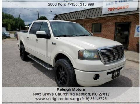 2008 Ford F-150 for sale at Raleigh Motors in Raleigh NC