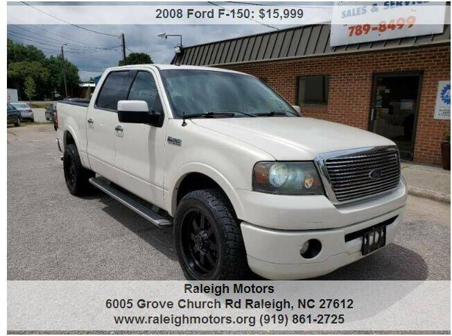 2008 Ford F-150 for sale in Raleigh, NC