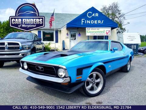 1972 Ford Mustang for sale at CAR FINDERS OF MARYLAND LLC - Classics in Eldersburg MD