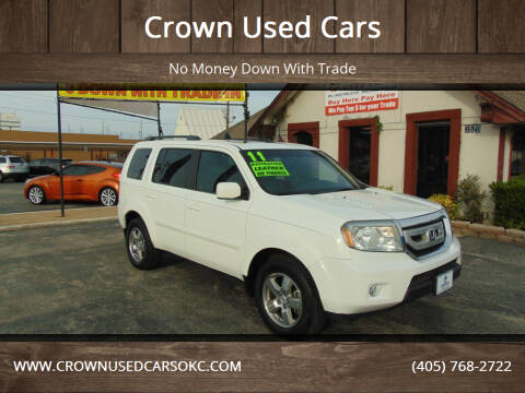 2011 Honda Pilot for sale at Crown Used Cars in Oklahoma City OK