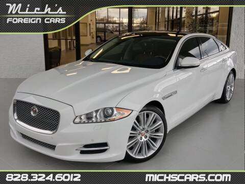 2015 Jaguar XJL for sale at Mich's Foreign Cars in Hickory NC