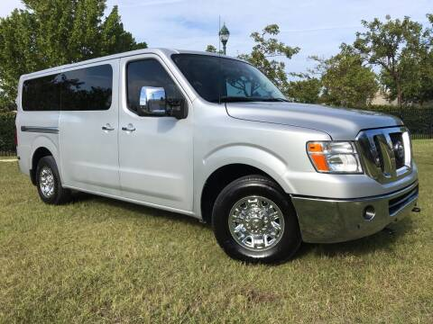 2017 Nissan NV Passenger for sale at Kaler Auto Sales in Wilton Manors FL