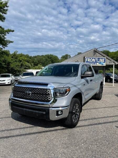 2019 Toyota Tundra for sale at Frontline Motors Inc in Chicopee MA