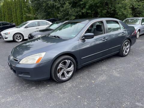 2006 Honda Accord for sale at Delafield Motors in Glenville NY