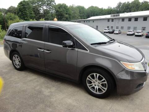 2012 Honda Odyssey for sale at HAPPY TRAILS AUTO SALES LLC in Taylors SC