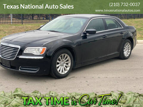 2013 Chrysler 300 for sale at Texas National Auto Sales in San Antonio TX