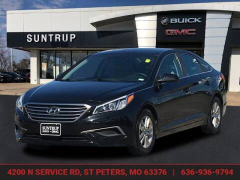 2016 Hyundai Sonata for sale at SUNTRUP BUICK GMC in Saint Peters MO