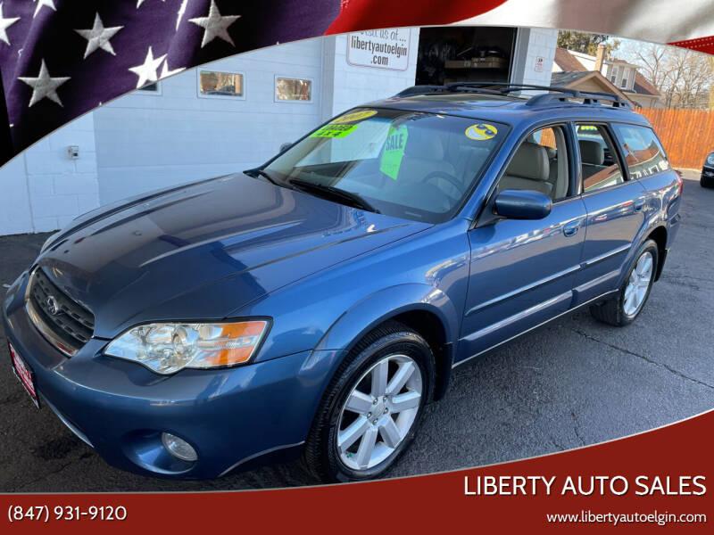 2007 Subaru Outback for sale at Liberty Auto Sales in Elgin IL