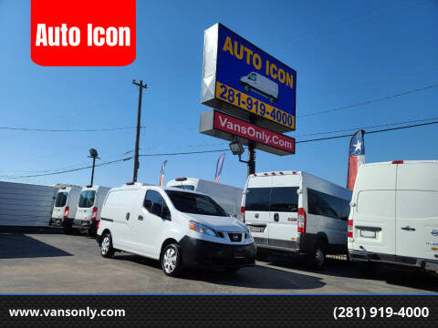 2016 Nissan NV200 for sale at Auto Icon in Houston TX