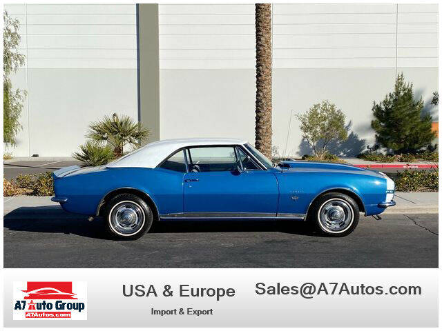 1967 Chevrolet Camaro for sale at A7 AUTO SALES in Holly Hill FL