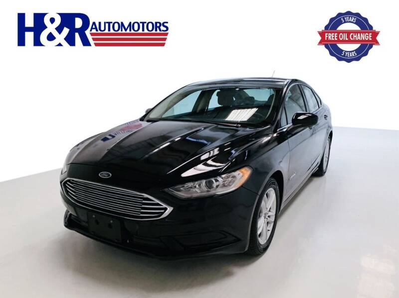 2018 Ford Fusion Hybrid for sale at H&R Auto Motors in San Antonio TX