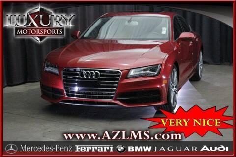 2014 Audi A7 for sale at Luxury Motorsports in Phoenix AZ
