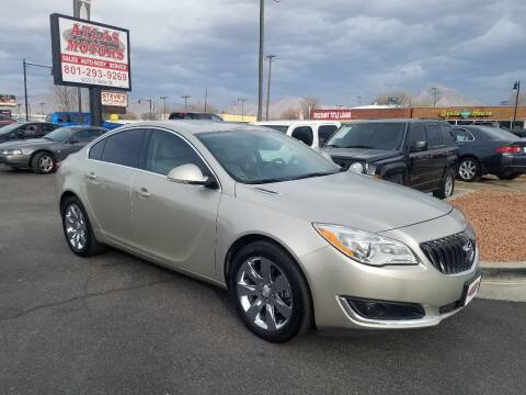 2015 Buick Regal for sale at ATLAS MOTORS INC in Salt Lake City UT