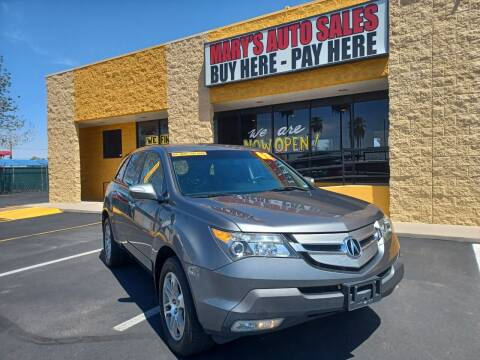 2008 Acura MDX for sale at Marys Auto Sales in Phoenix AZ