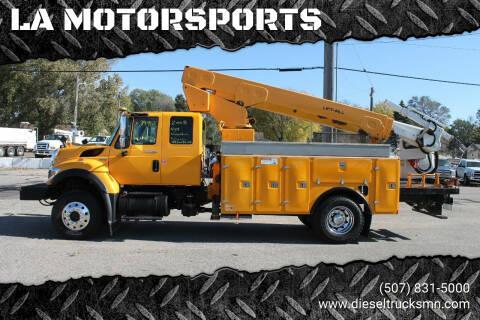 2008 International WorkStar 7400 for sale at LA MOTORSPORTS in Windom MN
