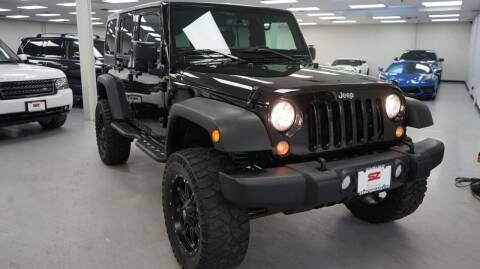 2017 Jeep Wrangler Unlimited for sale at SZ Motorcars in Woodbury NY