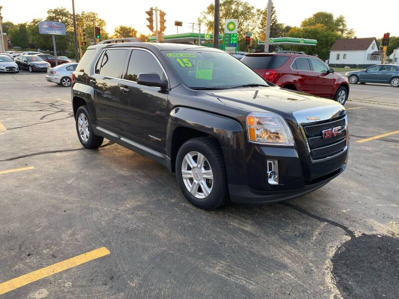 2015 GMC Terrain for sale at Dream Auto Sales in South Milwaukee WI