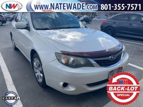 2009 Subaru Impreza for sale at NATE WADE SUBARU in Salt Lake City UT