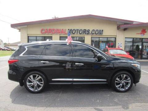 2014 Infiniti QX60 for sale at Cardinal Motors in Fairfield OH